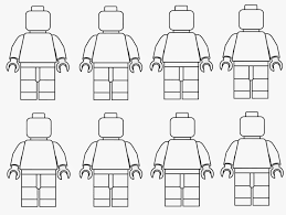Lego People Coloring Pages 16 Spring Time Treats Men Page