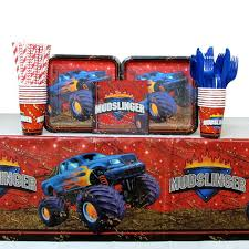 Mudslinger Monster Truck Birthday Party | Birthday Wikii Colors Monster Jam Party Supplies Walmart Also Truck Blaze The Machines Birthday Australia Alaide In Cjunction With Nestling Reveal Ideas City Hours Monster Truck Centerpieces Diy Home Decor And Crafts Mudslinger Wikii At In A Box Banner Race