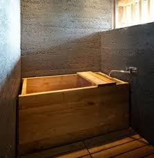 aus dem beton gestft badezimmer rustikal japanisches