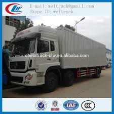 100 20 Ft Truck Dongfeng Door Lock Ft Van With Lift Flatform For Hot Sale
