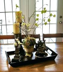 Dining Room Centerpieces Astounding Simple Table Decorating