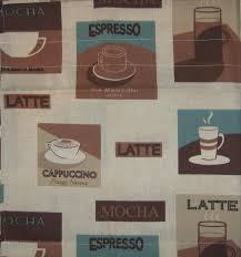 Latte Coffee Shop Sign Kitchen Decor Pot