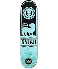 element nyjah courage 7 75 skateboard deck zumiez