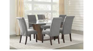 Ambassador Place Espresso dark brown 5 Pc Rectangle Dining Room