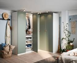 schlafzimmer ideen inspirationen eckkleiderschrank