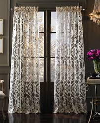 J Queen New York Tango Sheer Window Panel Collection Curtains