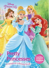 Pretty Princesses Coloring Book Disney Princess Color Fun Activity Books Child