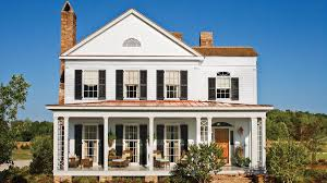 Farmhouse Houseplans Colors 17 House Plans With Porches Southern Living