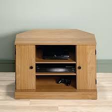 Sauder Beginnings Student Desk Highland Oak by Amazon Com Sauder Beginnings Corner Tv Stand Highland Oak