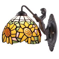 Tiffany Style Lamp Shades by Warehouse Of Tiffany Sconces Bathroom Lighting The Home Depot