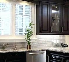 Backsplash Tile For Kitchen Metal Tile Glass Subway Tile