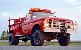 100 Ford Fire Truck Quick Attack Survivor 1965 F350 Barn Finds