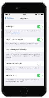 What does Send as text message mean on iPhone