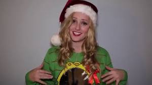 Diy Christmas Story Leg Lamp Sweater by Ugliest Christmas Sweater Featuring Chantal Mcculligh Youtube