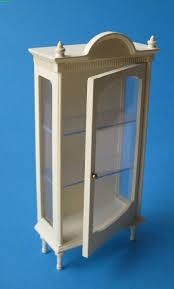 spielzeug möbel 1 12 weiß holz vitrine puppenhaus wohnzimmer