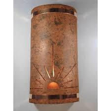 copper outdoor wall lighting bellacor