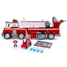 Amazon.com: PAW Patrol - Ultimate Rescue Fire Truck With Extendable ...