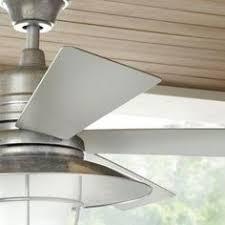 Shabby Chic Ceiling Fan Light Kit by Hampton Bay Portsmouth 52 In Outdoor Vintage White Ceiling Fan
