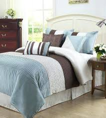 Classy Blue And Brown Bedroom Set Peacock Teal And Brown Bedding