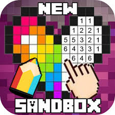 The Sandbox Of Coloring Pixel With Numbers Love 3 Edition