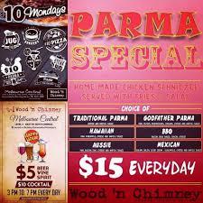 The Breslin Bar And Grill Melbourne by Wood U0027n Chimney Menu Menu For Wood U0027n Chimney South Melbourne