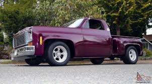 Chevy Stepside Custom CHOP TOP Low Rider Shortbox Shaved Pickup X ...