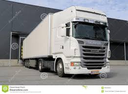 100 26 Truck White Scania R440 Semi By A Warehouse Editorial Image Image