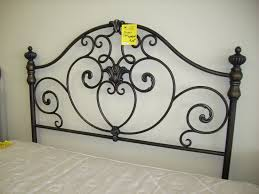 Wesley Allen King Size Headboards by Headboards Lucerne Iron Bed By Wesley Allen White Metal King