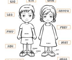 Boy And Girl Coloring Page