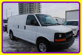 Used 2011 Chevrolet Express 2500 3 4 Ton Cargo Van A C For Sale