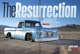 1962 D100 - Build Covered In Street Truck Magazine -