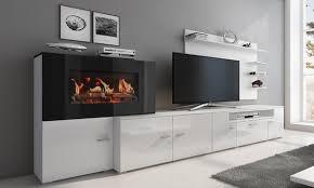 Olympo Kamin Set F眉r Das Wohnzimmer Wohnzimmer Möbel Set Mit Eingebautem Elektrischem Kamin In Der Farbe Nach Wahl Inkl Versand
