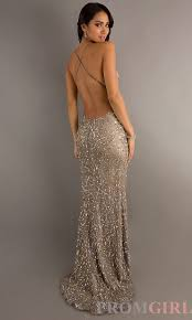 backless sequin gowns scala open back prom dresses promgirl