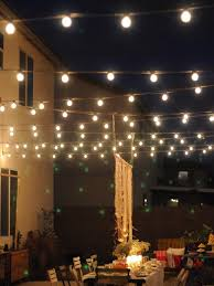 Nothing Says Party Like Outdoor String Lights They Are A Fun Alternative
