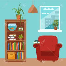 bureau coloré vecteur bureau coloré bureau avec des plantes d intérieur