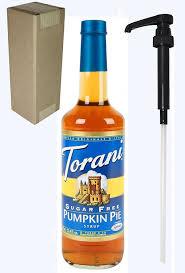 Splenda Easy Pumpkin Pie by Amazon Com Torani Sugar Free Pumpkin Pie Syrup 750 Ml Grocery