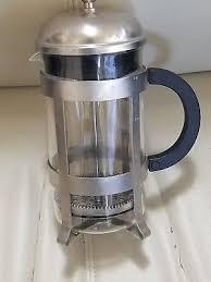 STARBUCKS BARISTA SIGNATURE 8 CUP FRENCH PRESS COFFEE MAKER BODUM Glass