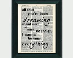 All That Youve Been Dreaming Of Your Everything Lyrics Inspired By Keith Urban Dictionary