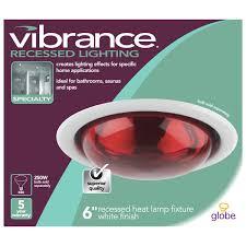 globe electric 90057 6 inch recessed lighting kit bathroom heat
