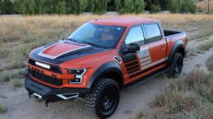 100 Bed Liner Whole Truck LINEX Raptor Custom Truck Will Roll Into SEMA Unscathed Autoweek