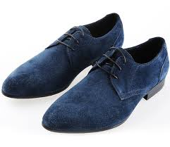 Dark Blue Dress Shoes