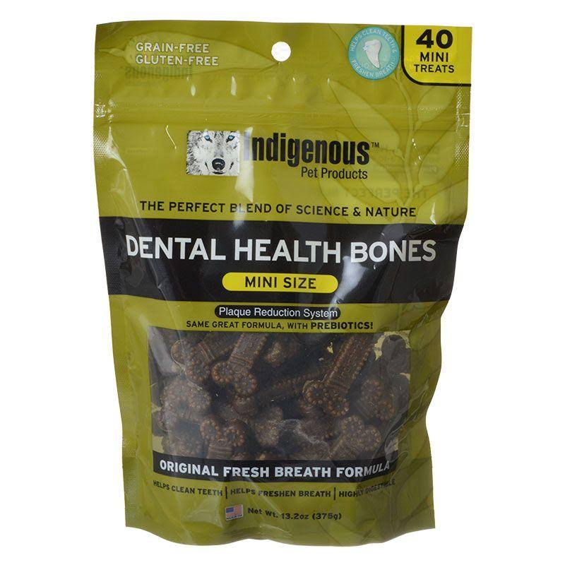 Indigenous Dental Health Bones for Dog - Original Fresh Breath Formula