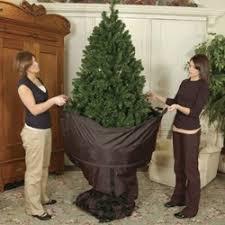 Upright Rolling Christmas Tree Storage Stylish