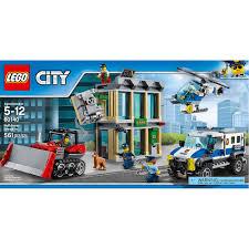 LEGO City Police Bulldozer Break-in 60140 - LEGO - Toys
