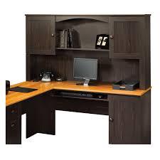 Sauder L Shaped Desk Instructions by Shop Sauder Harbor View Casual L Shaped Desk At Lowes Com