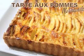 recette dessert aux pommes tarte aux pommes normande recettes faciles recettes rapides de