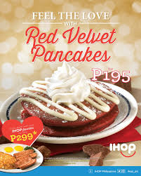 Ihop Halloween Free Pancakes 2014 by The Food Alphabet And More Feel The Love At Ihop This Valentines