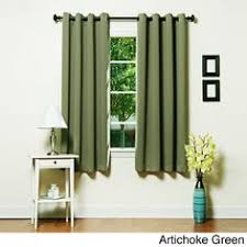 108 Inch Long Blackout Curtains by Pair Of Two White Top Grommet Blackout Curtain Panels Triple Pass