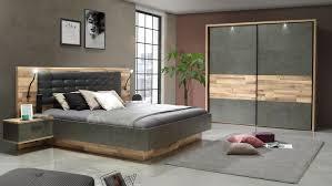 schlafzimmer 1 ricciano komplett eiche beton grau 4 teilig