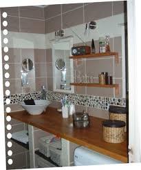 salle de bain bois galets taupe salles de bain